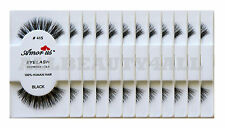 AmorUs 100% Human Hair False Eyelashes #415(pack of 12pairs) compare Red Cherry