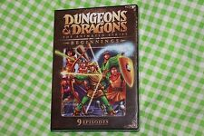 Dungeons & Dragons: The Animated Series DVD ( BEGINNINGS ) 9 Episodes
