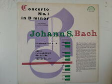 LP BACH Concerto No 1 in D minor Sviatoslav Richter