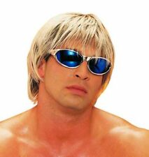 60'S 70'S 80'S ADULT MENS MIXED BLONDE BROWN SURFER DUDE MALE COSTUME WIG