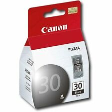 Canon OEM PG-30 black PIXMA printer ink 30 iP2600 MP190 MP470 iP1800 MX310 PG30
