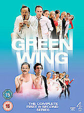 Green Wing - Series 1 And 2 (DVD, 2006, 6-Disc Set, Box Set)