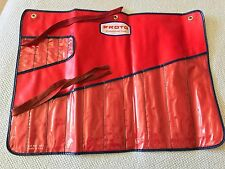 Proto J2413 Tool Pouch Only 15 Pc. Red Vinyl Kit USA Vintage