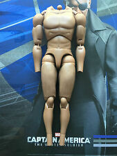 "Hot Toys captain america 2 nick fury 12"" nude body loose échelle 1/6th"