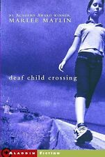 Marlee Matlin - Deaf Child Crossing (2014) - Used - Trade Paper (Paperback)