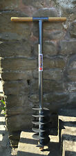 """Caldwells 6"""" Earth / Soil Auger - Heavy Duty - Fencing, Post Hole, Drill, Gate"""