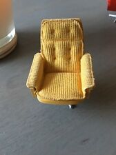 Lundby Swedish dolls house chair Vintage 1970's