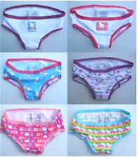 64% OFF! 6 PCS HELLO KITTY HIPSTER COTTON PANTIES SZ 6 /4-6 YRS SET C BNEW $6.99