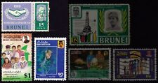 BRUNEI 3 high value of their set stamps USED @E940
