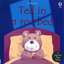 Ted in a Red Bed (Usborne Phonics Books)-ExLibrary