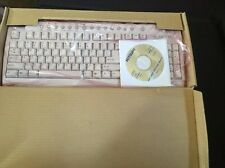 New Mitsumi Model HY KFKEB9HY PS/2 Computer Keyboard + Hot Keys Free Shipping