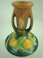 Roseville Art Pottery MINT RARE SUNFLOWER Single Candle Holder Candlestick 1079