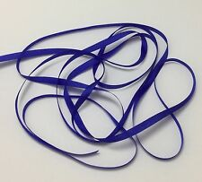 "YLI #99 Pure Silk Embroidery Ribbon COBALT BLUE 4mm 1/8"" wide Japan -by the yard"