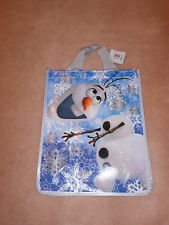 NEW, DISNEY STORE  FROZEN OLAF THE SNOWMAN REUSABLE TOTE BAG