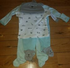 NWT Baby Boy CARTERS 4 Piece Outfit Set Size Newborn NB $26