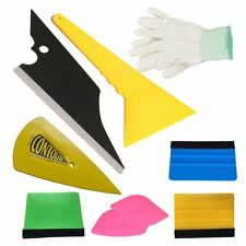 10PCS Economy Combo Car Wrapping Tools Kit 3M Felt Squeegee Anti-static Gloves