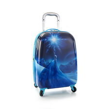 New Disney Frozen Elsa Kids Spinner Luggage - Wheeled Hard Bag Official Licensed