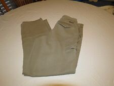 Circa khaki slacks pants dress work school surf skate 30 tan brown GUC Men's