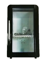 Hot or Cold Function - Mini Fridge Cooler and Warmer Black, Clear Viewing Window