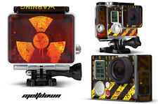 Skin Stickers for GoPro Hero 3+ Camera & Case Decal HERO3+ Go Pro MELTDOWN