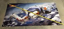 Red Bull banner skydiving suit helmet poster parachute can sign equipment bag 5