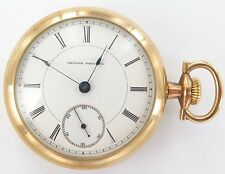 .1886 VERY RARE JOSEPH JERGER / ILLINOIS WATCH CO 18S 11J P/WATCH ONLY 2450 MADE