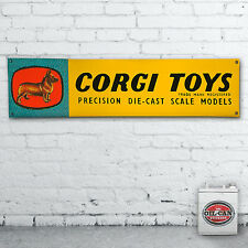 CORGI TOYS  advert Banner  –  heavy duty for workshop, garage, 1700 x 430mm