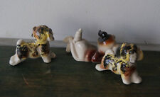 Vintage 1960s Japan Ceramic Dog Collection
