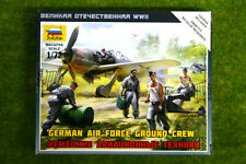 Zvezda alemán Fuerza aérea tripulación de tierra y Accesorios 1/72 6188