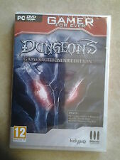PO/39934//DUNGEONS GAME OF THE YEAR EDITION POUR PC NEUF SOUS BLISTER