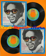 LP 45 7'' DAVID RUFFIN Love can be hazardous to your health 1975 italy cd mc dvd