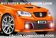 Xenon FOG LIGHTS Fits Commodore H11 VE Omega FG Camry Aurion Falcon BMW E90