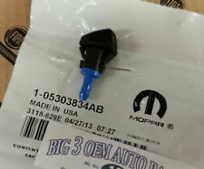 2008-2014 Jeep Patriot RH or LH Windshield Washer NOZZLE new OEM 5303834AB