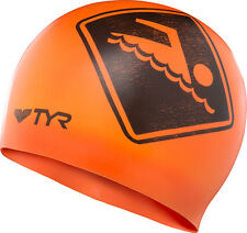 Tyr Swimmers Only Swim Cap Orange