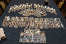 Eloquence by Lunt 65 piece Sterling Silver Complete Flatware Set for 12+ SERVERS