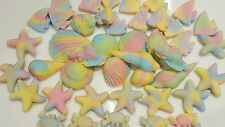 Edible sugarpaste cake toppers ideal for Little Mermaid  themed cakes