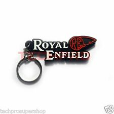R1400121  Rubber Key Chain with Royal Enfield design