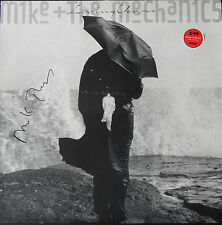 MIKE RUTHERFORD Signed Album Cover MIKE AND THE MECHANICS Living Years COA