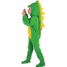New Childrens Kids Boys Dinosaur Onesie Age 2 - 4 Fancy Dress Costume P7412