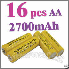 16 AA 2A 2700 NiMH Batteria ricaricabile RC MP3 PMP celle