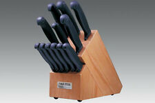 Cold Steel Kitchen Classics Complete Set 12 knives w/ Oak Block 59KSET Free Ship