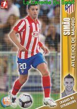 133 SIMAO PORTUGAL ATLETICO MADRID FC.BARCELONA CARD MEGACRAQUES 2010 PANINI