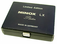 MINOX LX Platin limited 8x11 No. 659 neu new Germany classic miniature camera