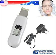 Ultrasonic Scrubber Ultrasound Ion Skin Facial Cleaner Spa Beauty Machine +【USA】