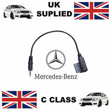 Mercedes Benz C Class A0018279204 3.5mm jack MP3 iPod in car Cable replacement