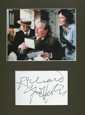 RICHARD GRIFFITHS Signed 11x9 Photo Display VERNON DURSLEY In HARRY POTTER COA
