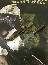 DAMTOYS US 26th Marine 2015 Exclusive M10 Bayonet & Scabbard loose 1/6th scale