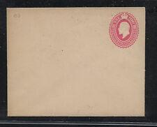 Leeward  Islands  postal envelope one penny unused                   MS0727