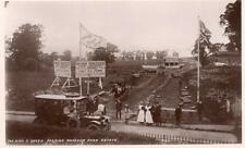King & Queen passing Ravenor Park Estate Great Greenford Nr Ealing unused RP pc