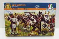 Italeri 6051- Zulu Warriors - Colonial Wars                1:72  Plastic Figures